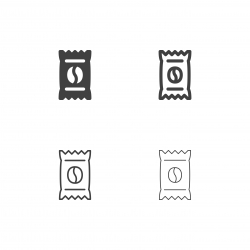 Instant Coffee Icons - Multi Series
