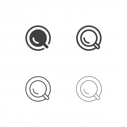 Top of Coffee Cup Icons - Multi Series