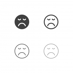 Bored Emoji Icons - Multi Series