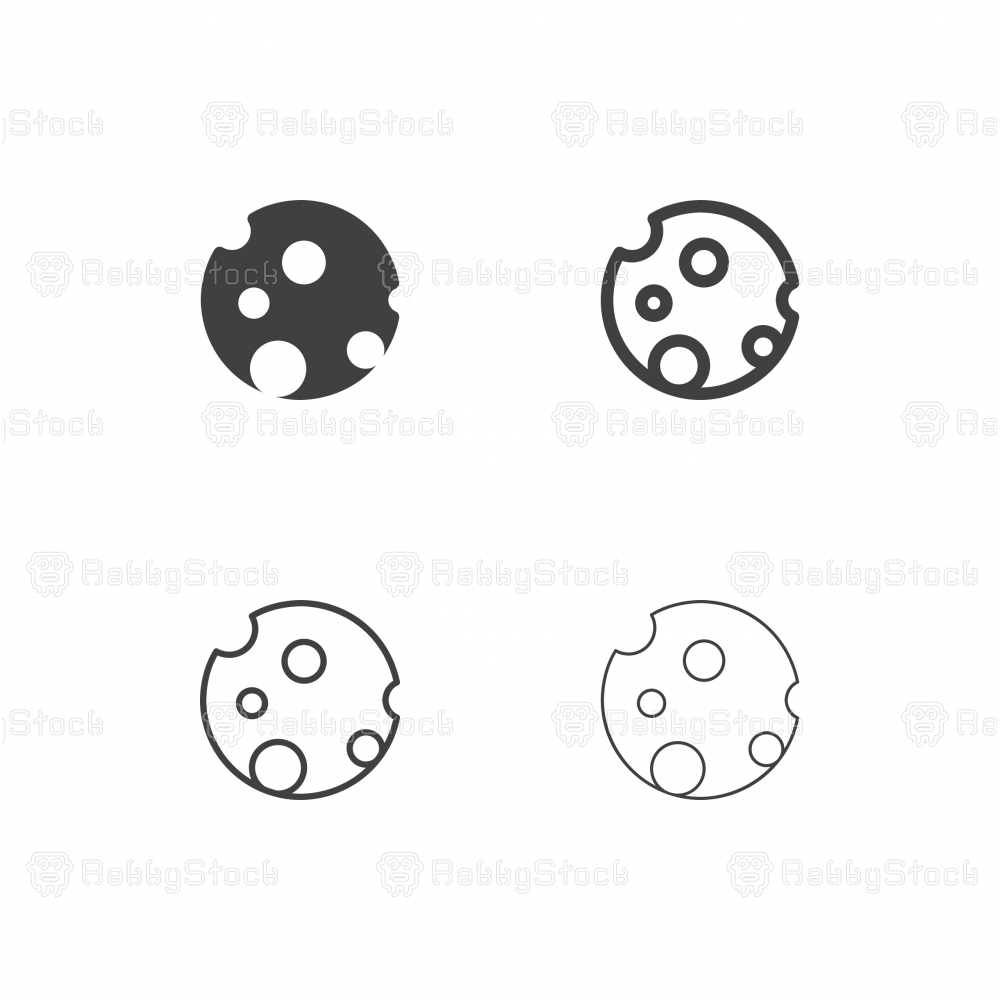 Moon Icons - Multi Series