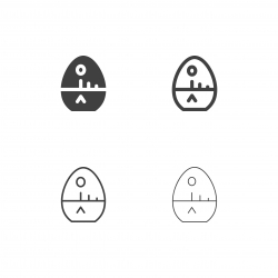 Egg Timer Icons - Multi Series