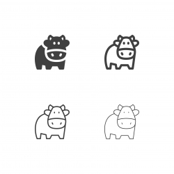 Cow Icons - Multi Series