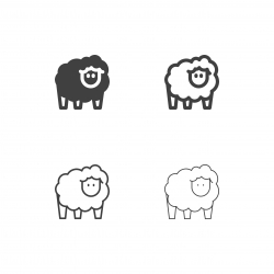 Sheep Icons - Multi Series
