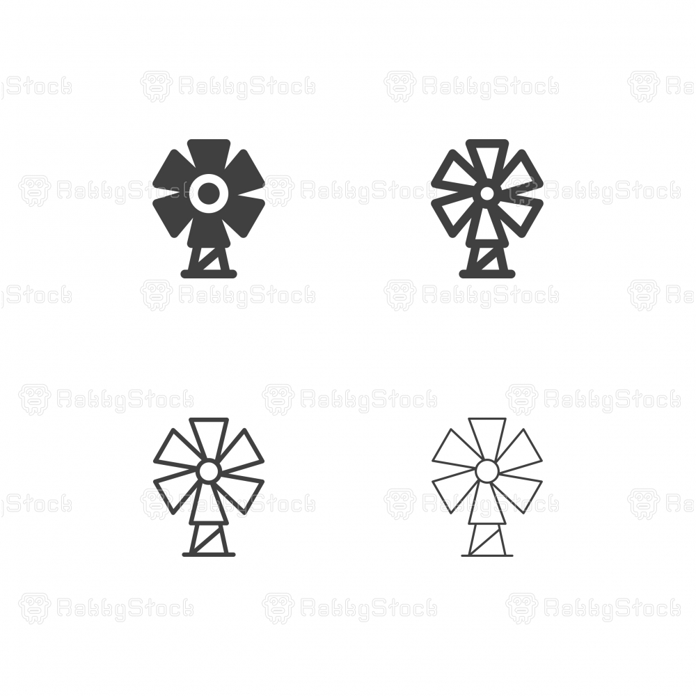 Windmill Icons - Multi Series