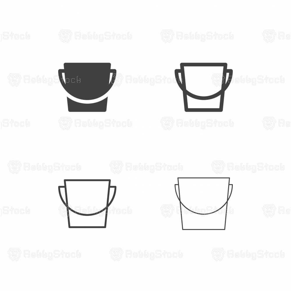 Bucket Icons - Multi Series