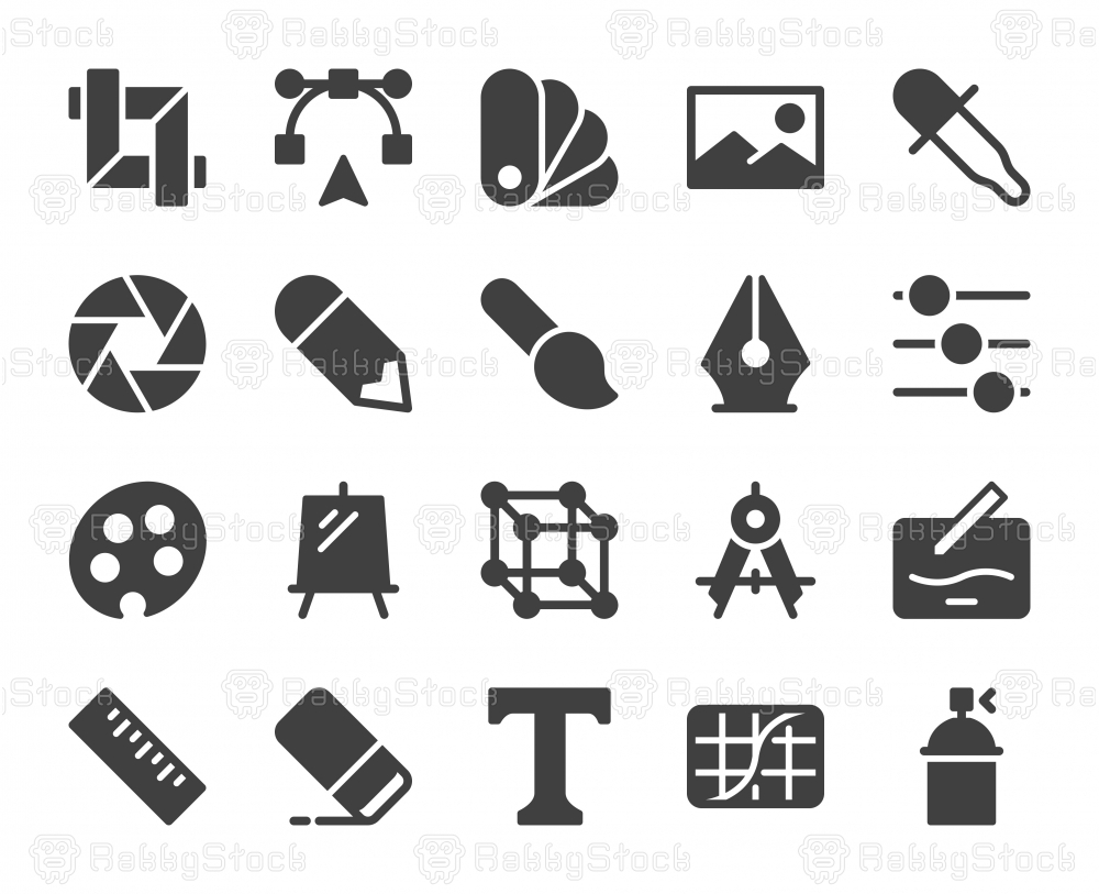 Design and Drawing - Icons