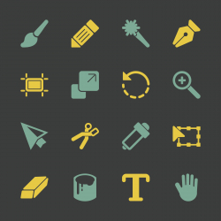 Design Tools Icons - Color Series | EPS10