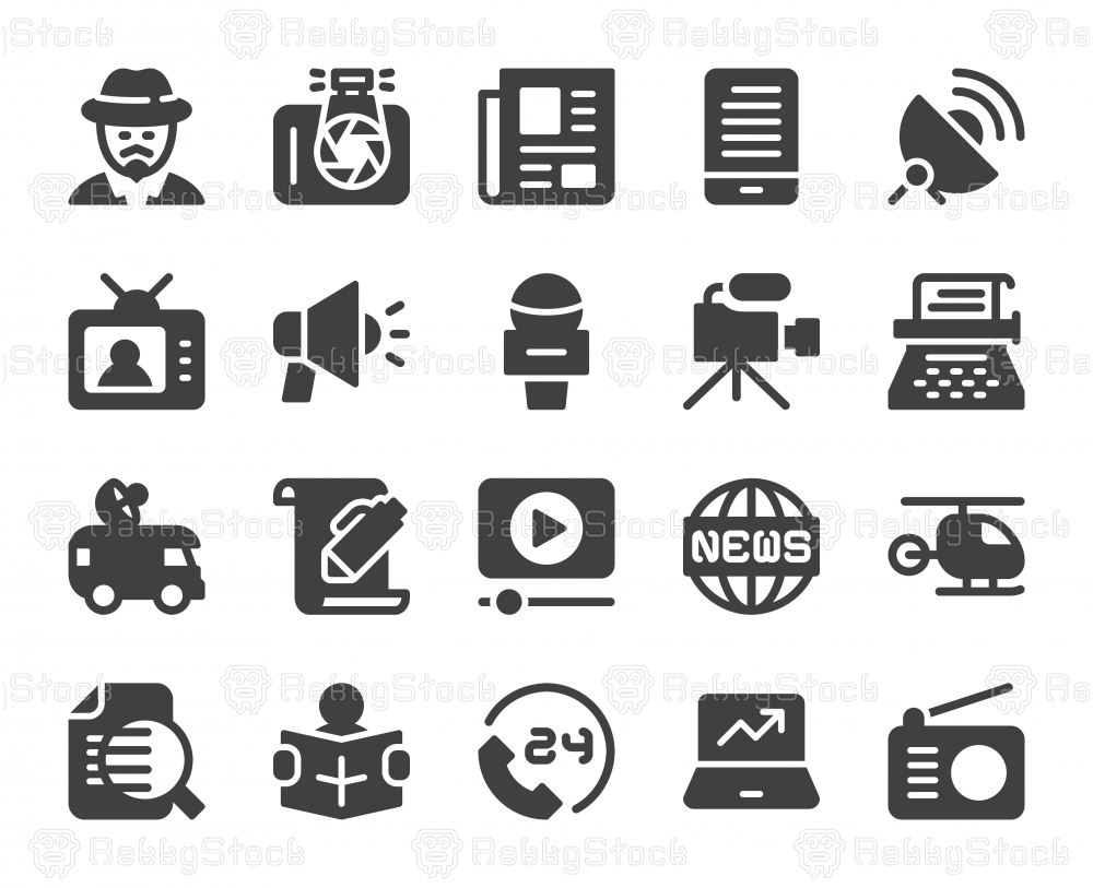 News Reporter - Icons