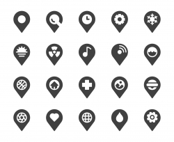 Map Pin Pointer - Icons