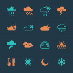 Weather Icons - Color Series | EPS10