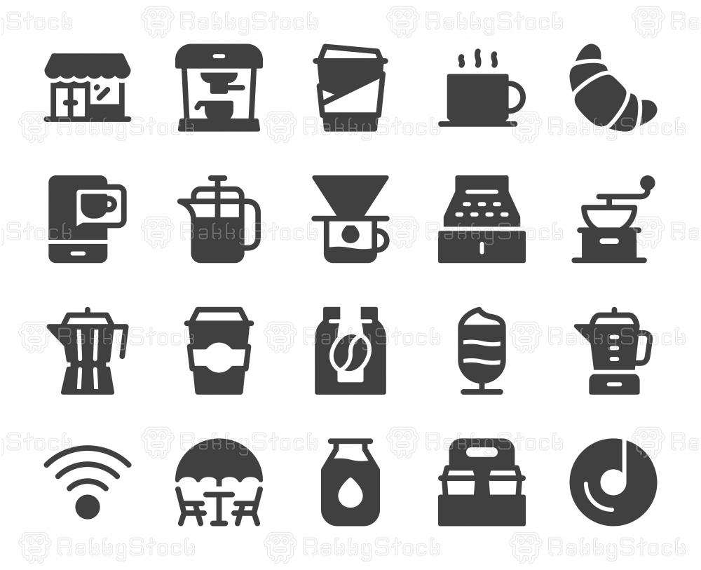 Coffee Shop - Icons