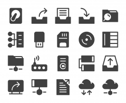 Data Storage - Icons
