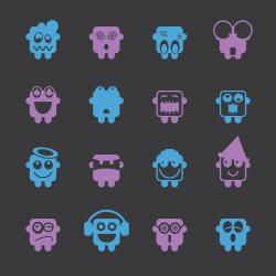 Emoticons Set 3 - Color Series | EPS10