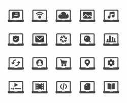 Laptop - Icons