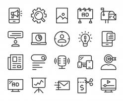 Marketing - Line Icons
