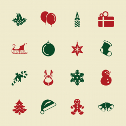 Christmas Icons - Color Series | EPS10