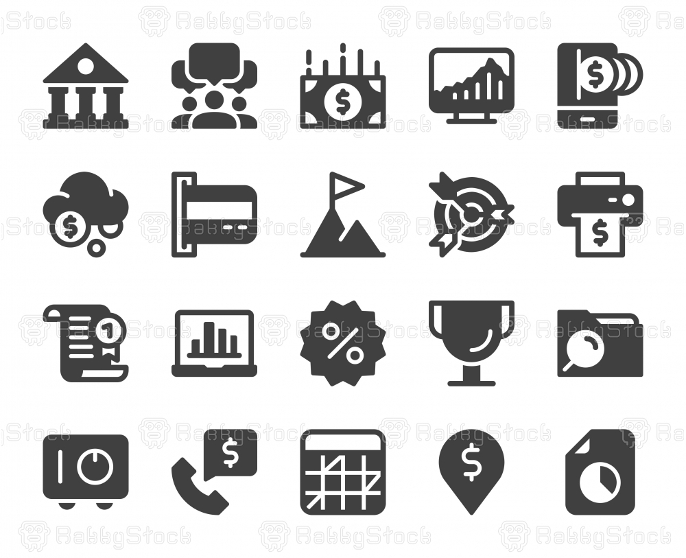 Business and Finance - Icons