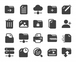 Storage Management - Icons