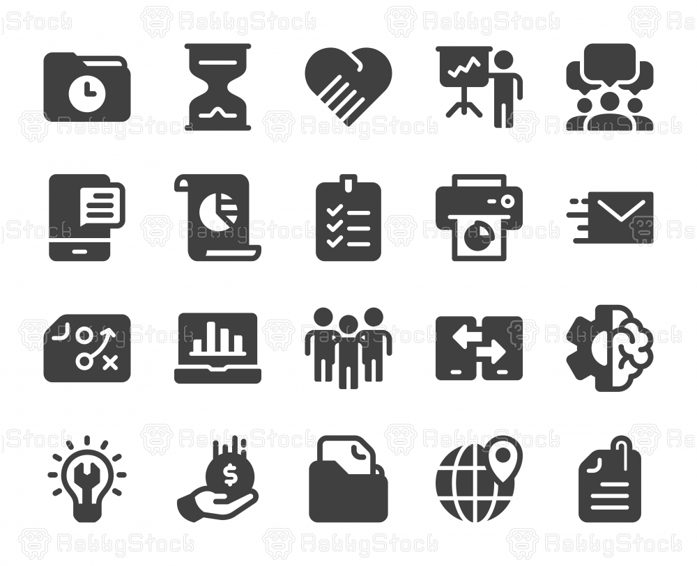 Project Management - Icons