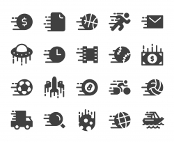 Speed Concept - Icons