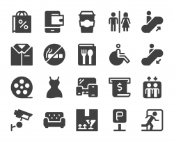 Shopping Mall - Icons