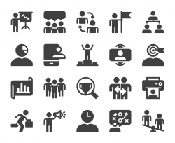 Business Management - Icons