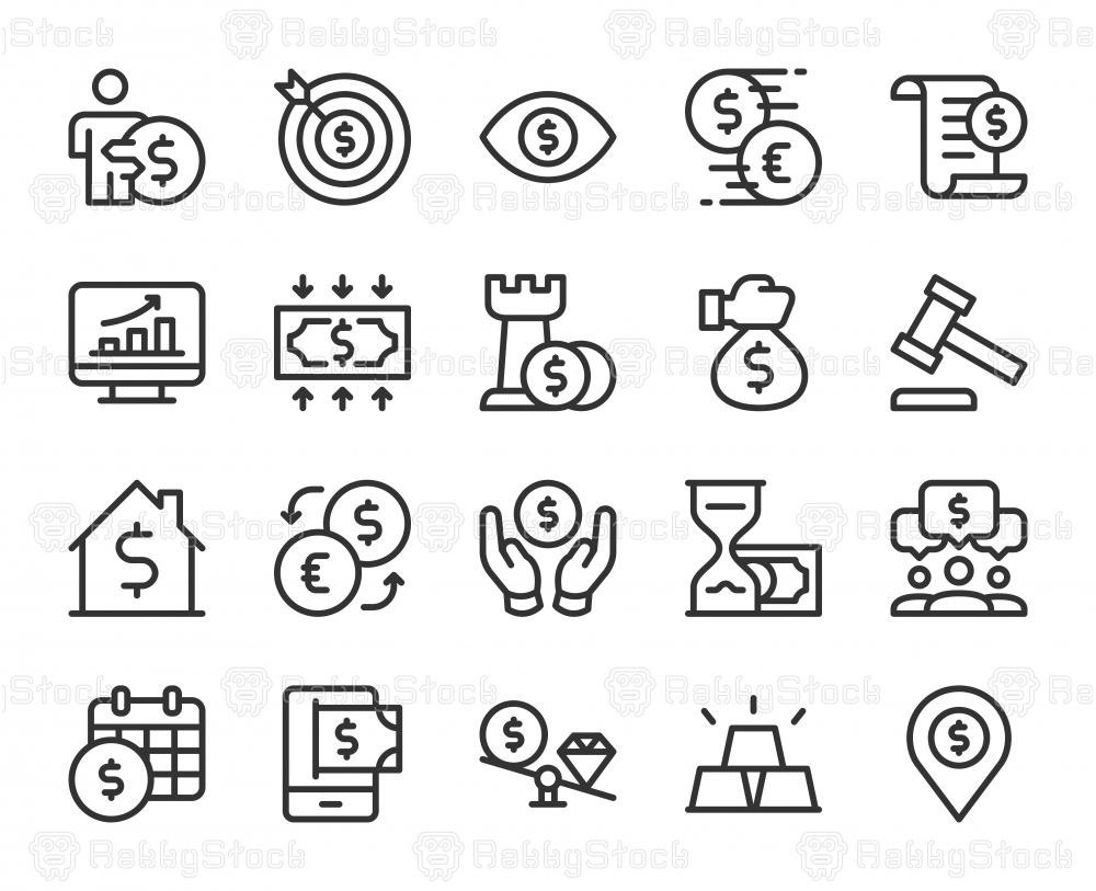 Business and Investment - Line Icons