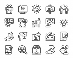 Business Consulting - Line Icons