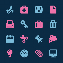 Office Icons Set 1 - Color Series | EPS10