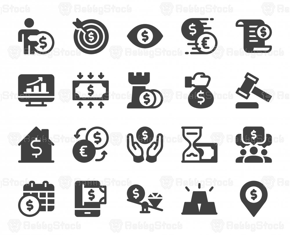 Business and Investment - Icons