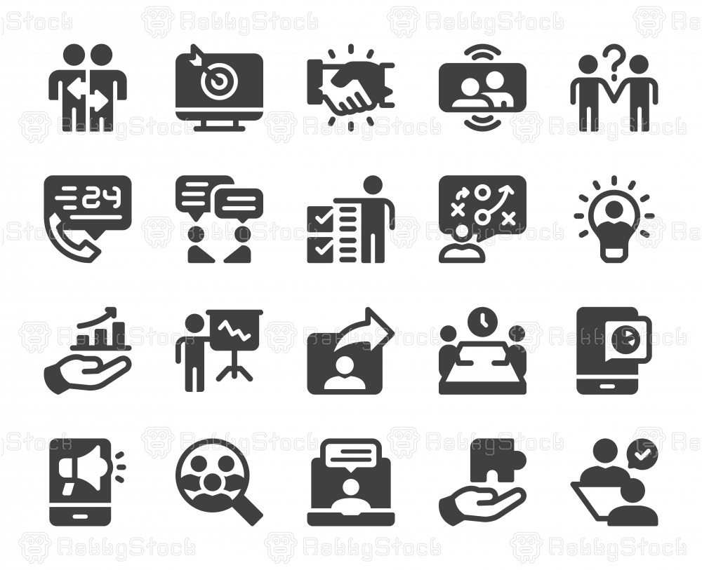 Business Consulting - Icons