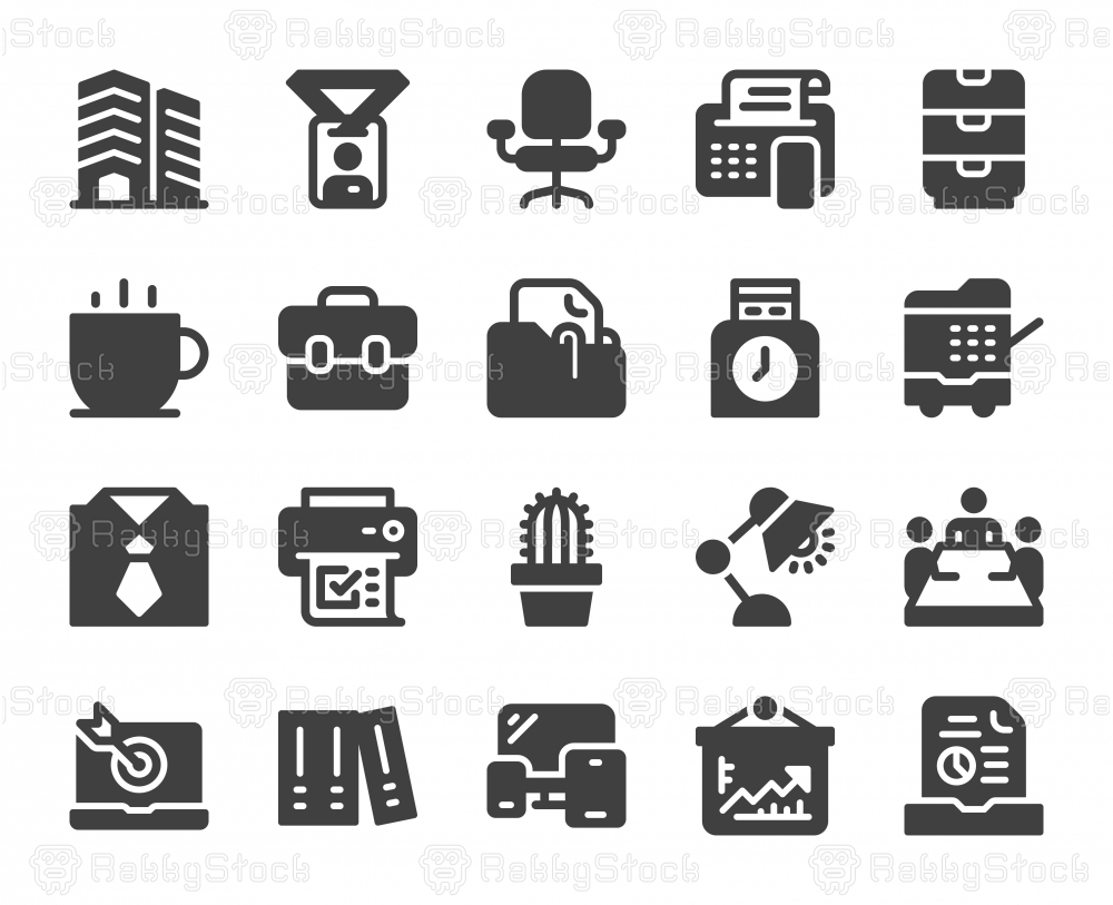 Business Office - Icons