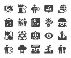 Corporate Development - Icons