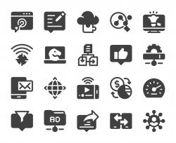 Internet Marketing - Icons