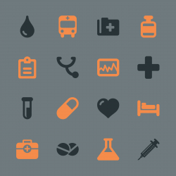 Medical Sign Icons - Color Series | EPS10