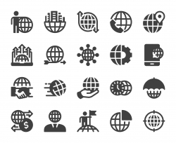 Global Business - Icons