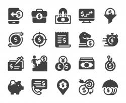 Making Money - Icons