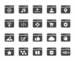 Web Page - Icons