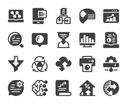 Business Data Analysis - Icons