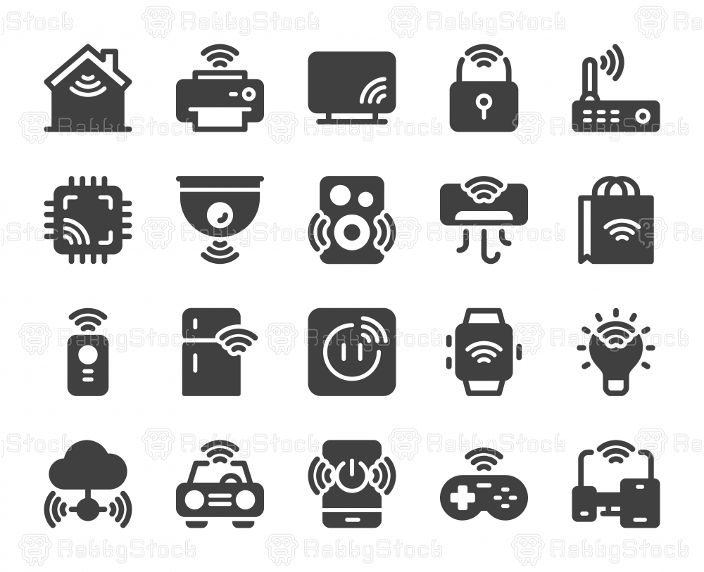 Internet of Things - Icons