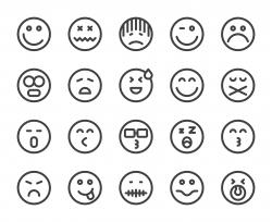 Emoji - Bold Line Icons