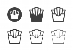 French Fries Icons - Multi Series