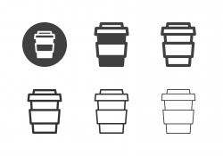 Iced Coffee Icons - Multi Series