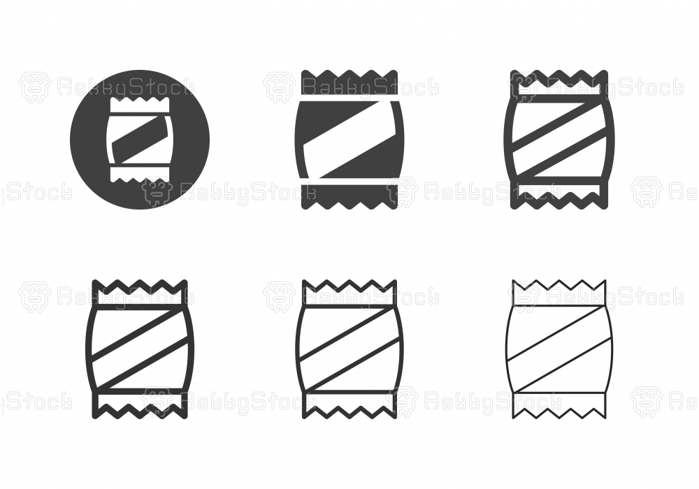 Snack Icons - Multi Series