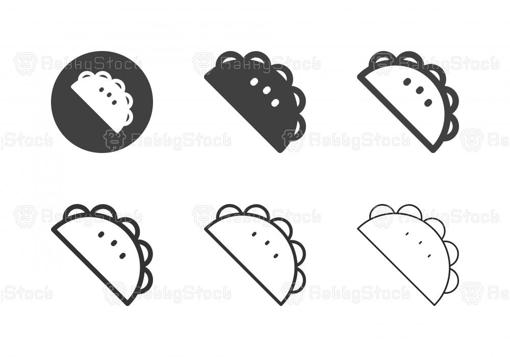 Taco Icons - Multi Series