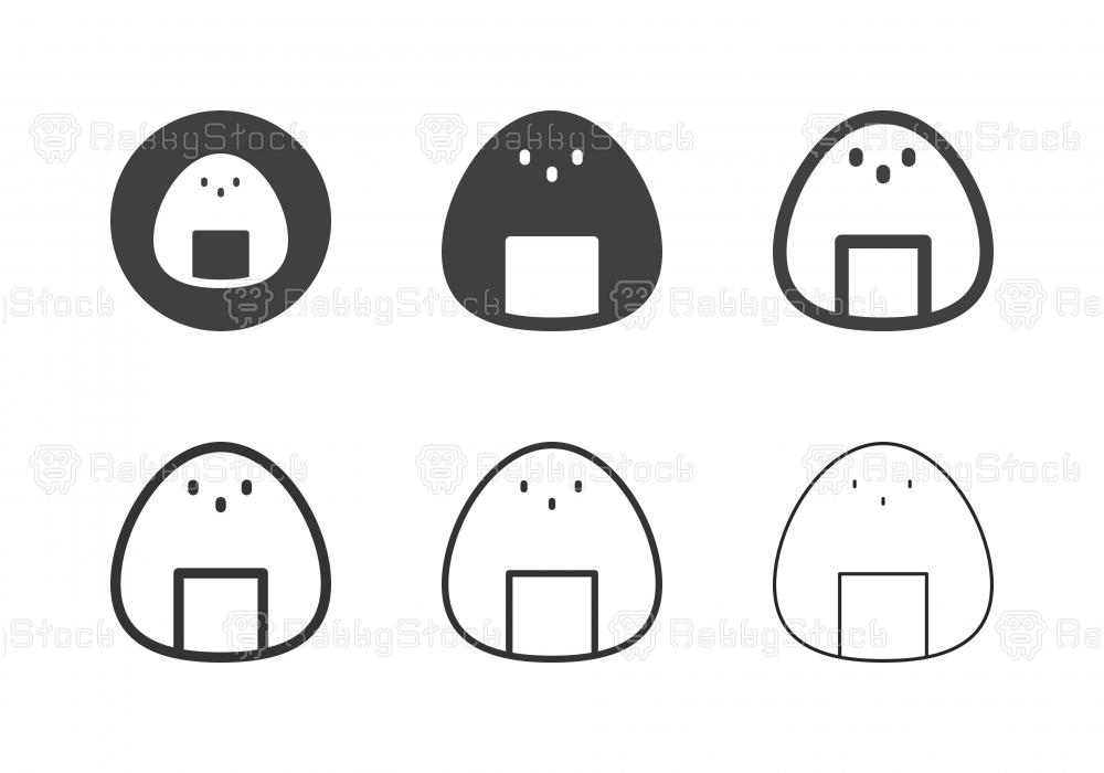 Onigiri Icons - Multi Series