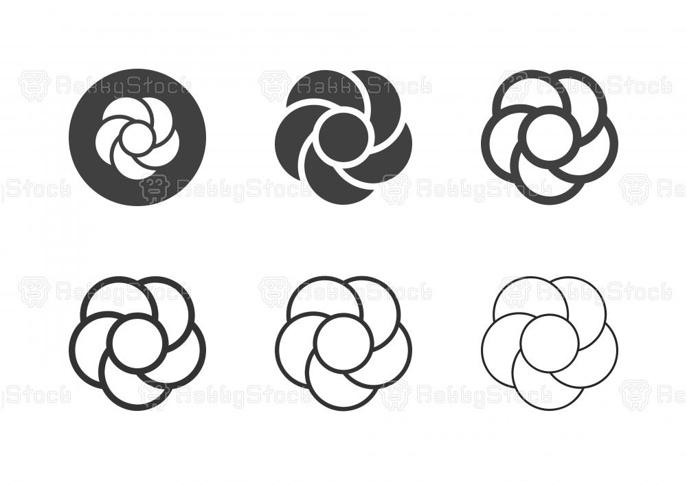 Chomphu Phuka Flower Icons - Multi Series