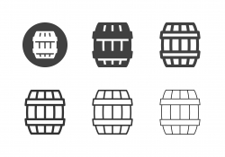Beer Barrel Icons - Multi Series