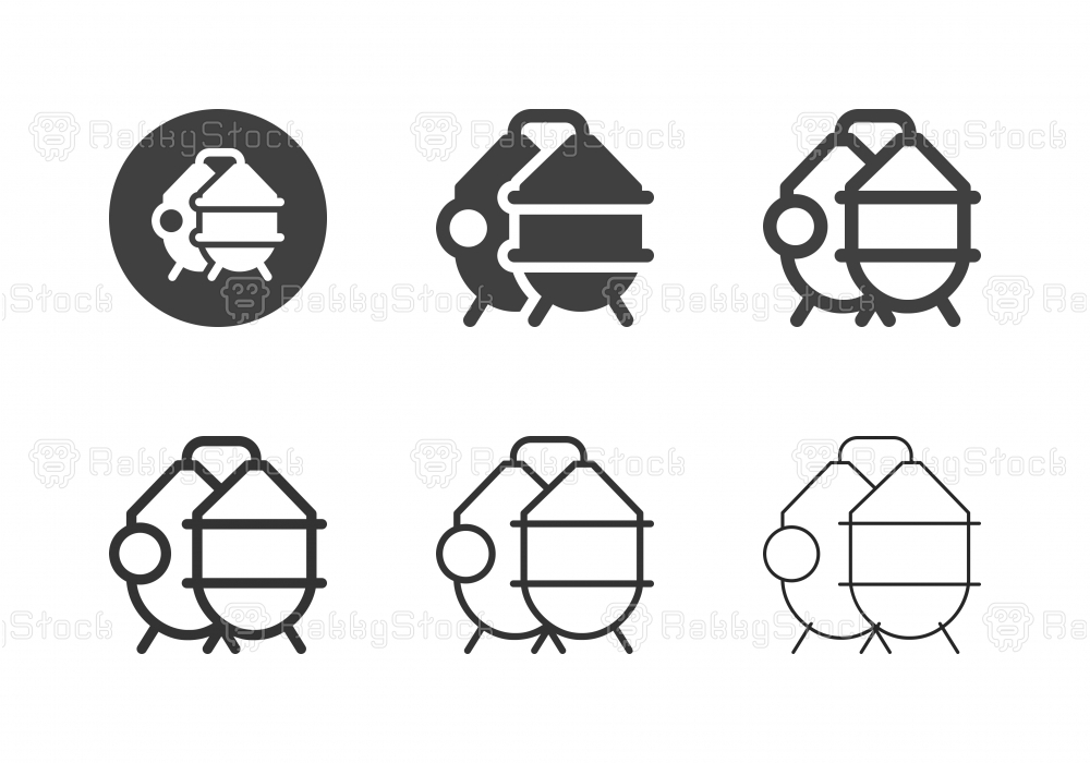 Brewery Process Tank Icons - Multi Series