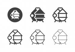 Brewery Process Tank Icons - Multi Series